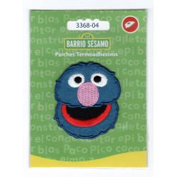 Grover Sesame Street Broderet strygemærke 5,5x5 cm