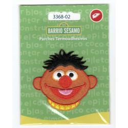 Ernie Sesame Street Broderet strygemærke 6x6 cm
