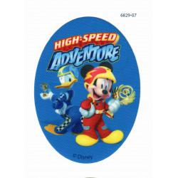 Mickey Mouse Printet strygelap 11x8 cm