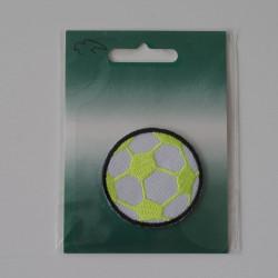 Fodbold strygemærke Ø 4,5 cm