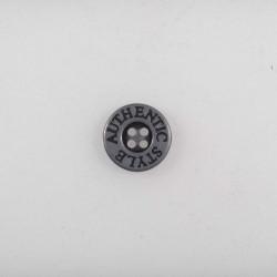 Metal knap 4-hul 13mm