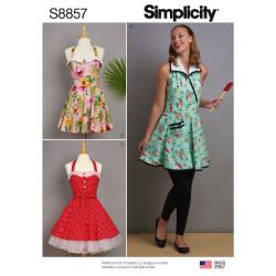 Forklæde Snitmønster Simplicity 8857