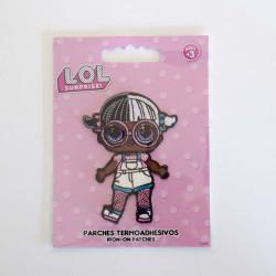 L.O.L.Surprise Baby Next Door m/glimmer Broderet strygemærke 5x7 cm