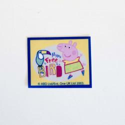 Gurli Gris printet strygemærke 7x5,5 cm