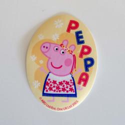 Mor gris printet strygemærke 11x8 cm