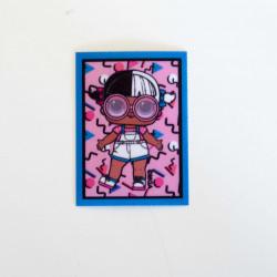 L.O.L Surprise Baby Next Door Printet strygemærke 5x7 cm