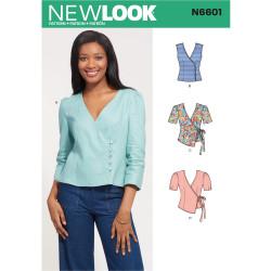 Bluse New Look snitmønster 6601