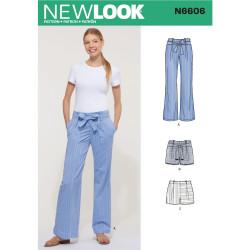 Bukser og shorts m/bælte New Look snitmønster