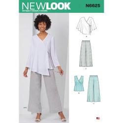Bukser og Tunika New Look snitmønster
