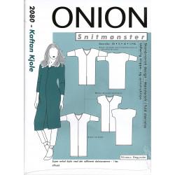 Kaftan kjole Onion snitmønster 2080