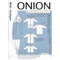 Coatigan Plusmode Onion snitmønster 9018