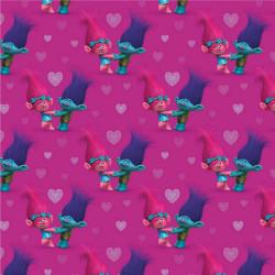 Trolls Poppy & Kvist Jersey Digital print metervare