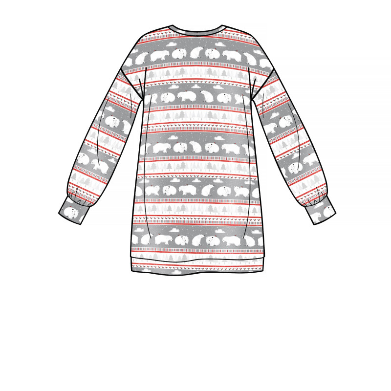 sweatshirt kjole snitmonster