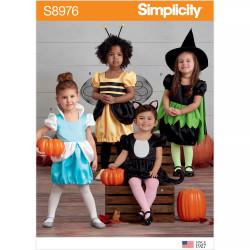 Kostume til småbørn snitmønster