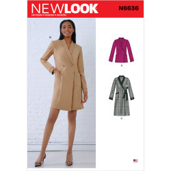 Frakke/jakke New look snitmønster