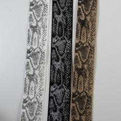 Elastik med slangeprint 40 mm