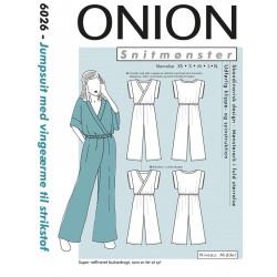 Jumpsuit m/vingeærmer Onion snitmønster