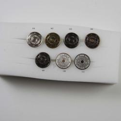 Patent knapper Fashion 17 mm