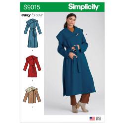 Frakke og Jakke Simplicity snitmønster 9015