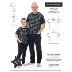 Klassisk t-shirt Minikrea snitmønster