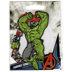 Hulk broderede strygemærke