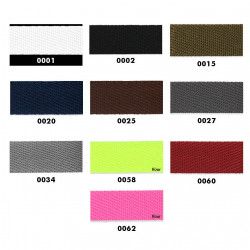 Gjordbånd Polyester 20, 25 og 30 mm