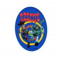 Buzz & Woody printet strygelap 11x8 cm