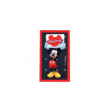 Mickey Mouse printet strygemærke 7x4 cm