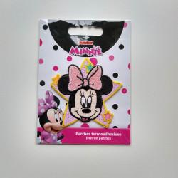 Minnie Mouse broderet strygemærke 6,5x6,5 cm