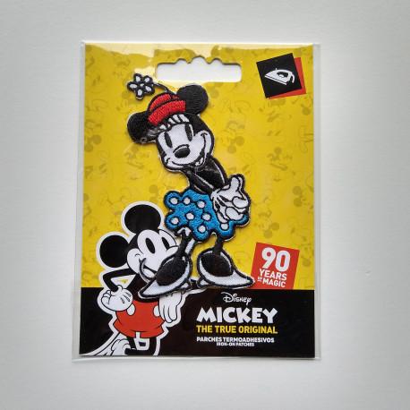 Minnie Mouse broderet strygemærke 8x4 cm