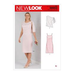 Kjole + løs top New look snitmønster