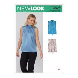 Bluse New look snitmønster