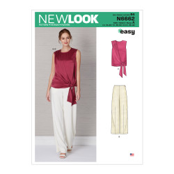 Bluse og bukser New look snitmønster easy