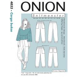 Cargo buks Onion snitmønster
