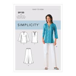 Bukser og tunika plusmode snitmønster easy