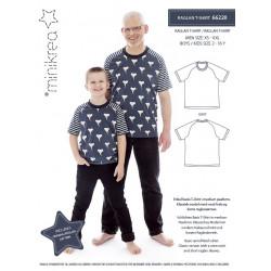 Raglan T-shirt Minikrea snitmønster