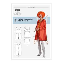 Fantasi kostume voksen snitmønster 9085 Simplicity