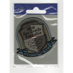 Caballos De Polo broderet strygemærke 6,5x7,5 cm