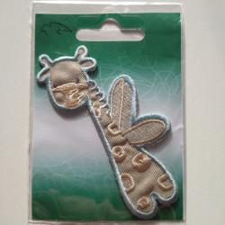 Fantasi dyr babymærke strygemærke 9x5 cm