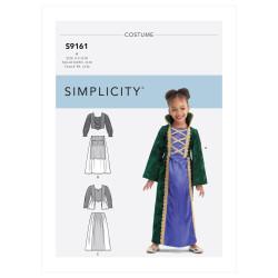 Børne kostume snitmønster