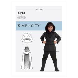 Børne kostume drenge snitmønster