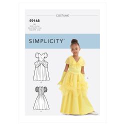 Børne kostume Snehvide kjole snitmønster