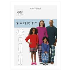 Hyggetøj til hele familien Simplicity snitmønster 9202