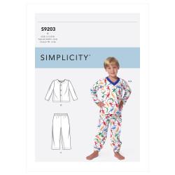 Pyjamas drenge snitmønster