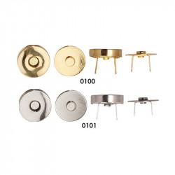 Magnet lås rund 18 mm
