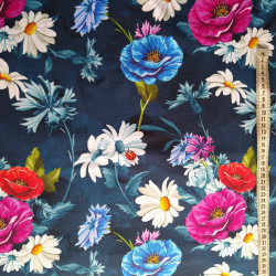 Smukke sommerblomster Digital print