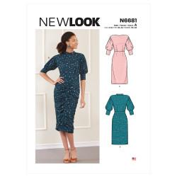 Kjole New look snitmønster 6681