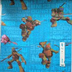 Teenage Mutant Ninja Turtel bomuld