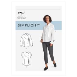 Skjorte også plusmode snitmønster