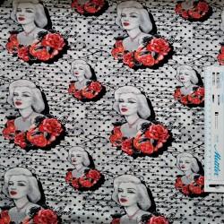 Marilyn Monroe Jersey Digital print
